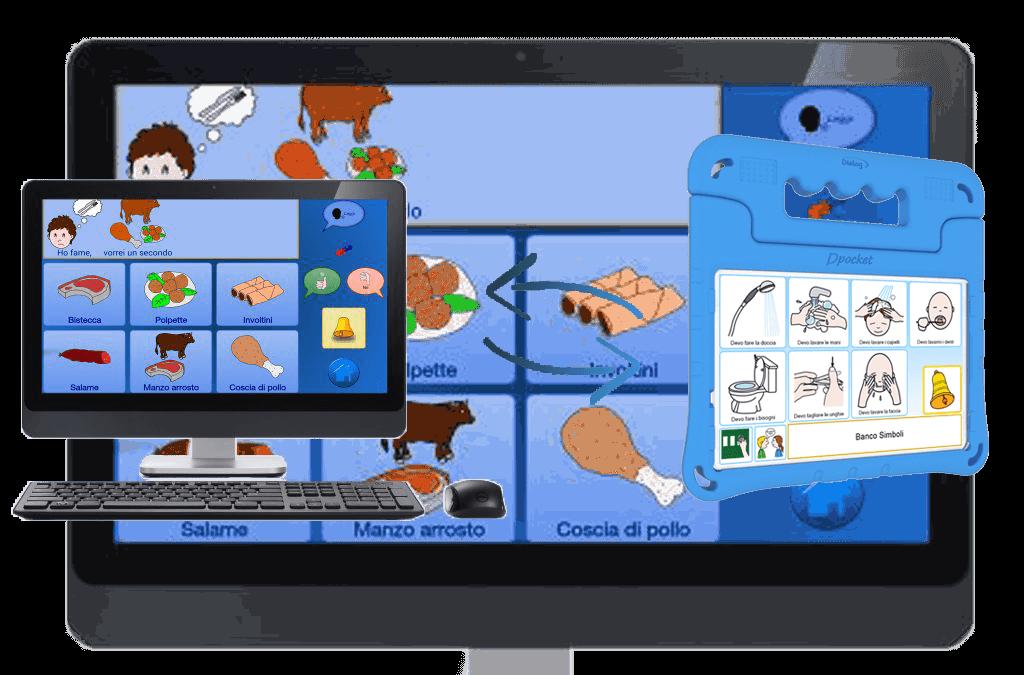 Comunicatore Dinamico Tablet Autismo CAA DPad